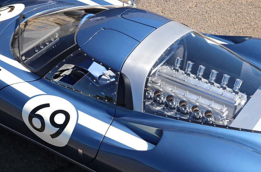 Ecurie Cars LM69 - engine