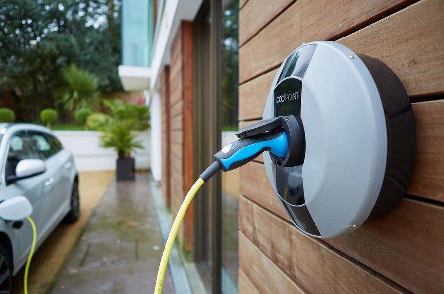 Home wallbox charger