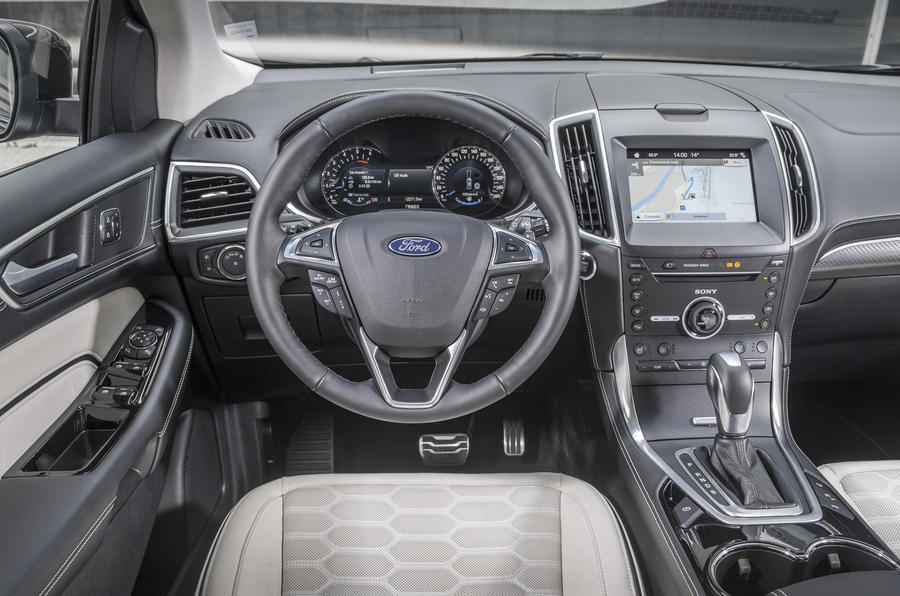 2017 ford edge vignale 2 0 tdci 210 powershift awd review review autocar. Black Bedroom Furniture Sets. Home Design Ideas