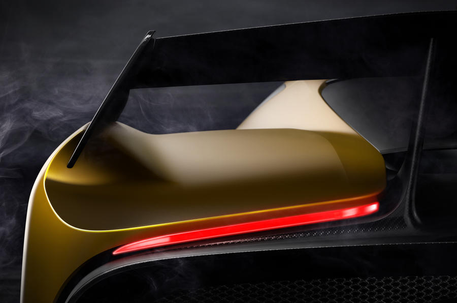 Pininfarina Fittipaldi EF7 Vision Gran Turismo rear teaser image