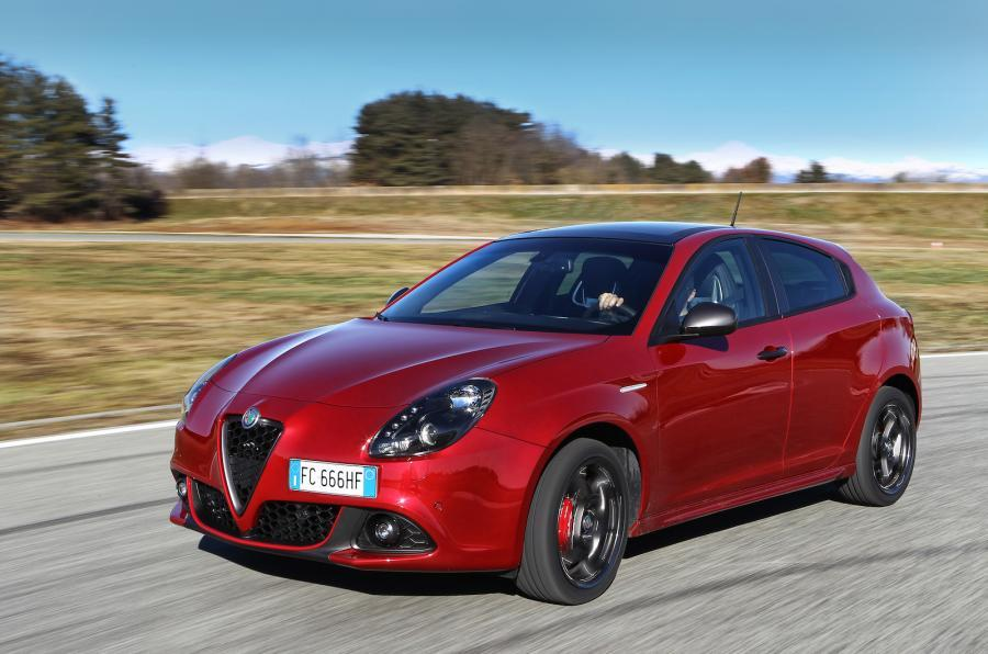 Second facelifted Alfa Romeo Giulietta
