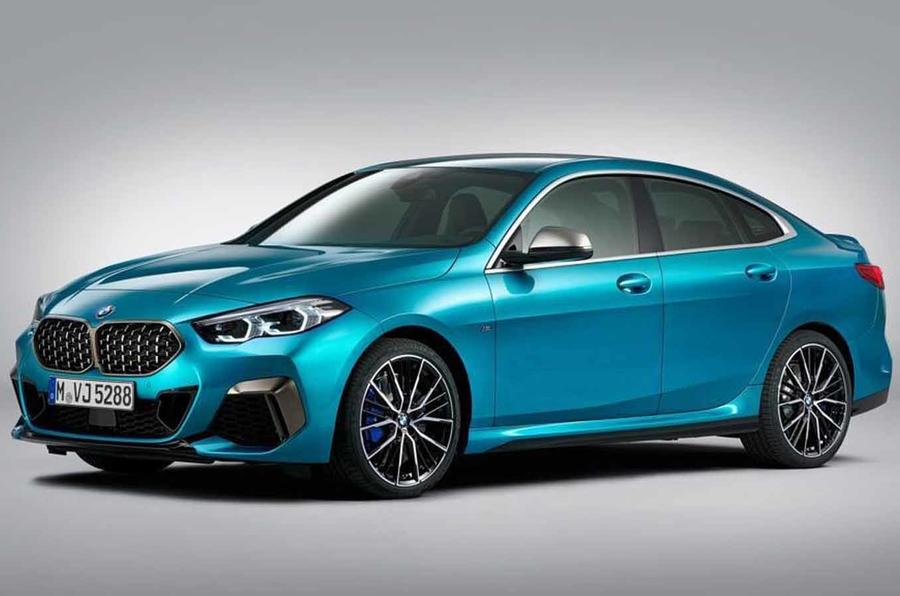 BMW 2-Series Gran Coupe Teased One Last Time