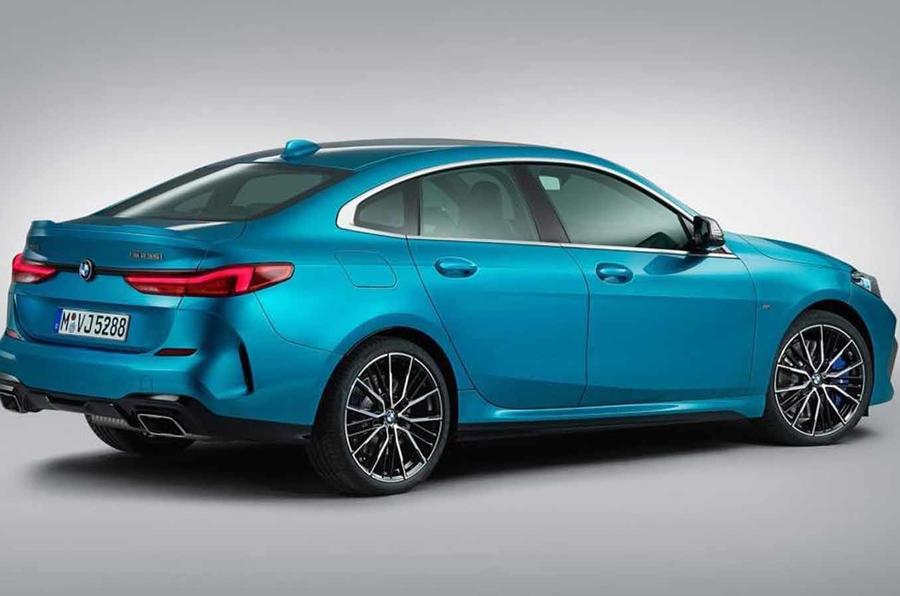 BMW 2 Series Gran Coupe leak