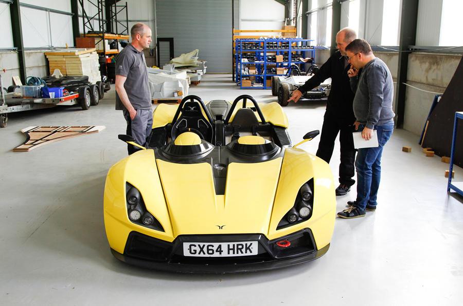 Elemental RP1 sports car 2016 Goodwood Festival of Speed