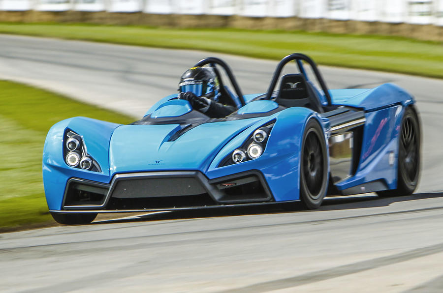 Definitive Elemental RP Sports Car In Action At Goodwood Autocar - Get in sports car