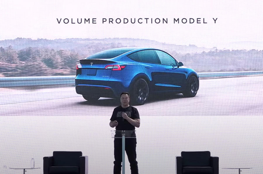 Elon Musk at Tesla battery day