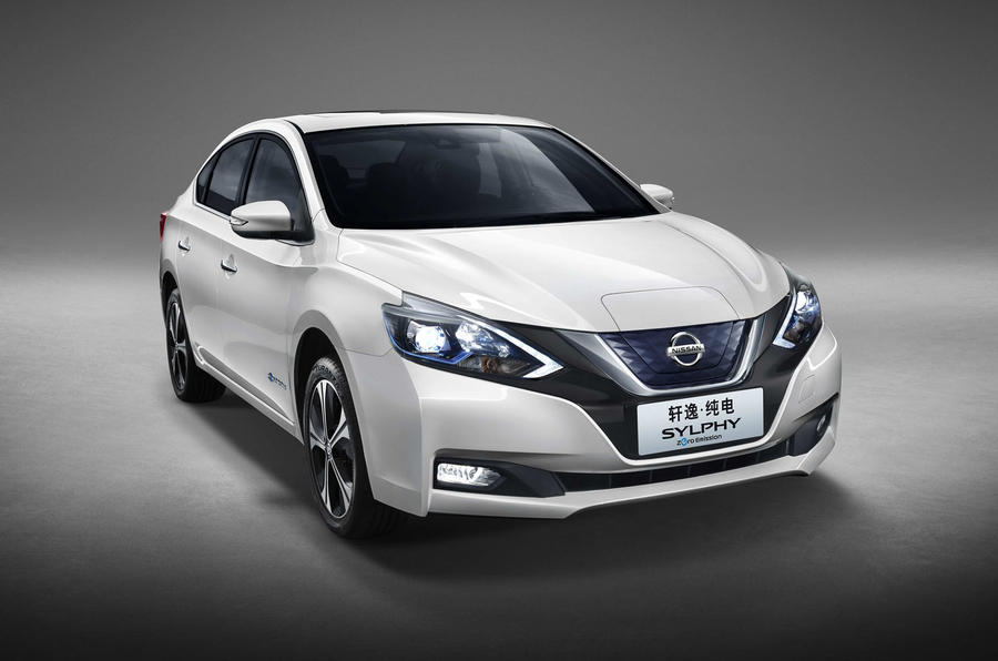 Nissan Sylphy Zero Emission revealed as Leaf-based EV for ...