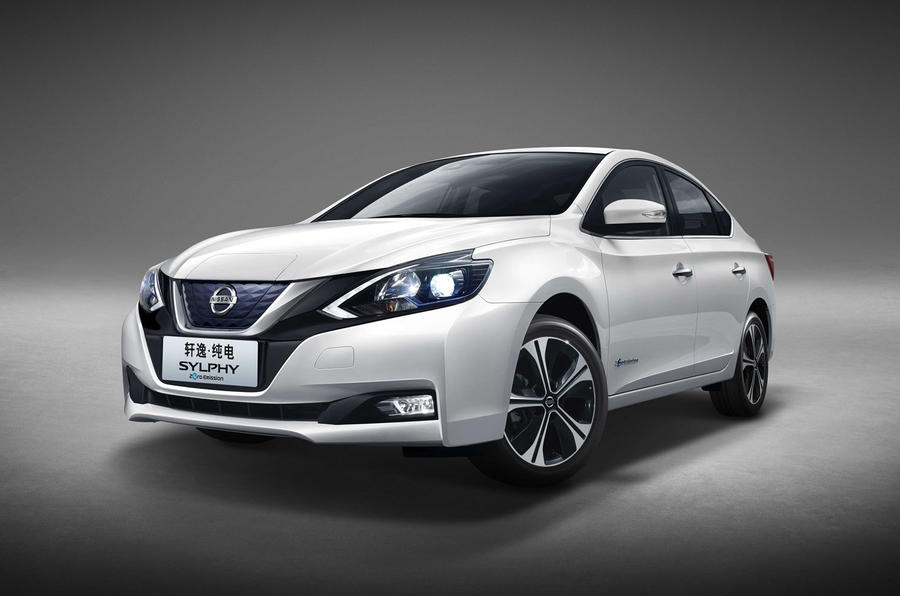 Nissan Sylphy Zero Emission Revealed As Leaf Based Ev For