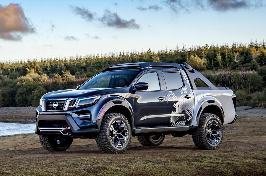 2018 Nissan Navara >> Nissan reveals Navara Dark Sky Concept in Germany | Autocar