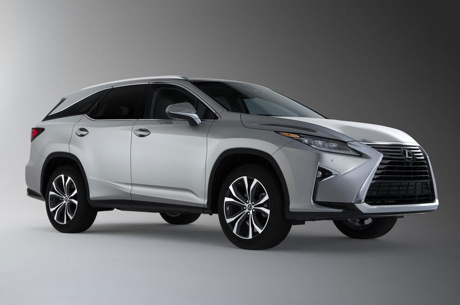 Lexus RX L unveiled in LA as new seven-seat SUV
