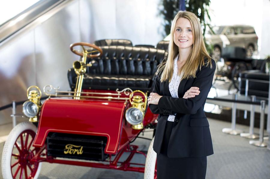 Emma King and Ford Model A