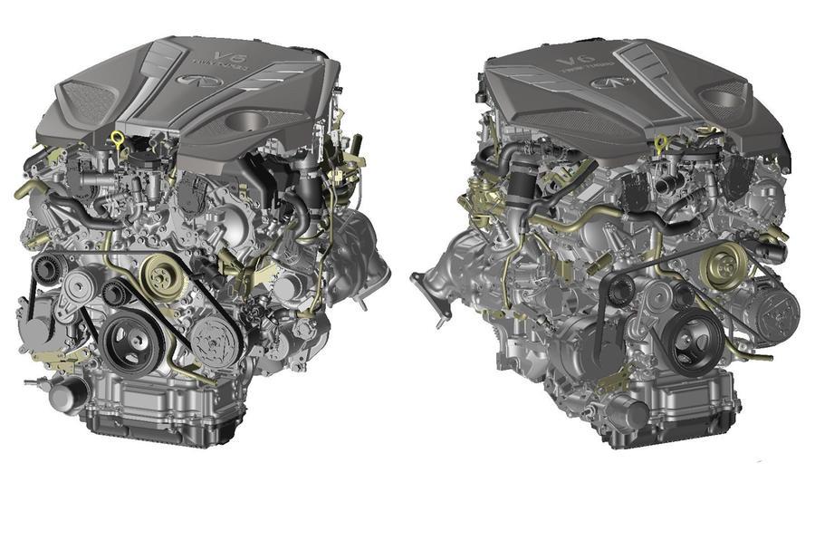 Infiniti Q50 facelift engine V6