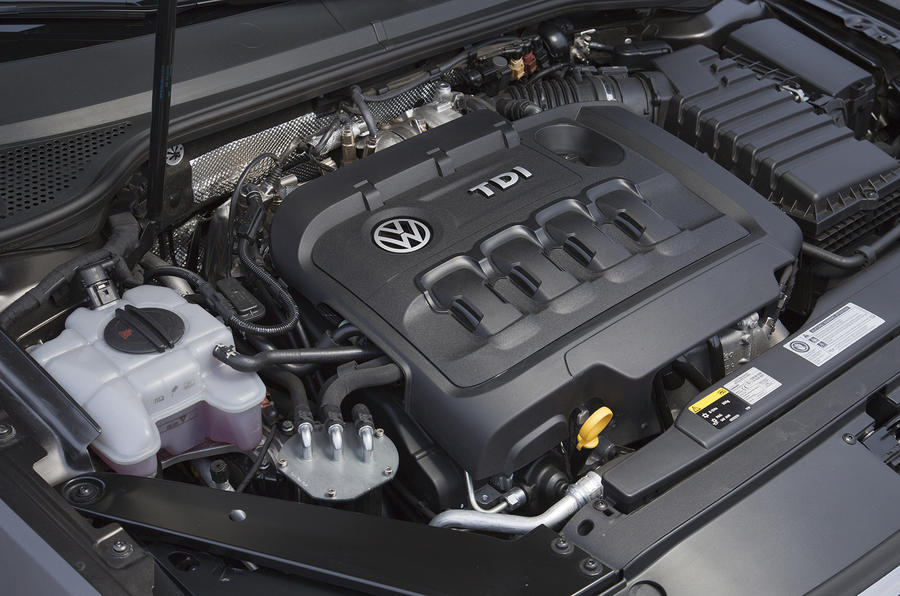 Volkswagen engine