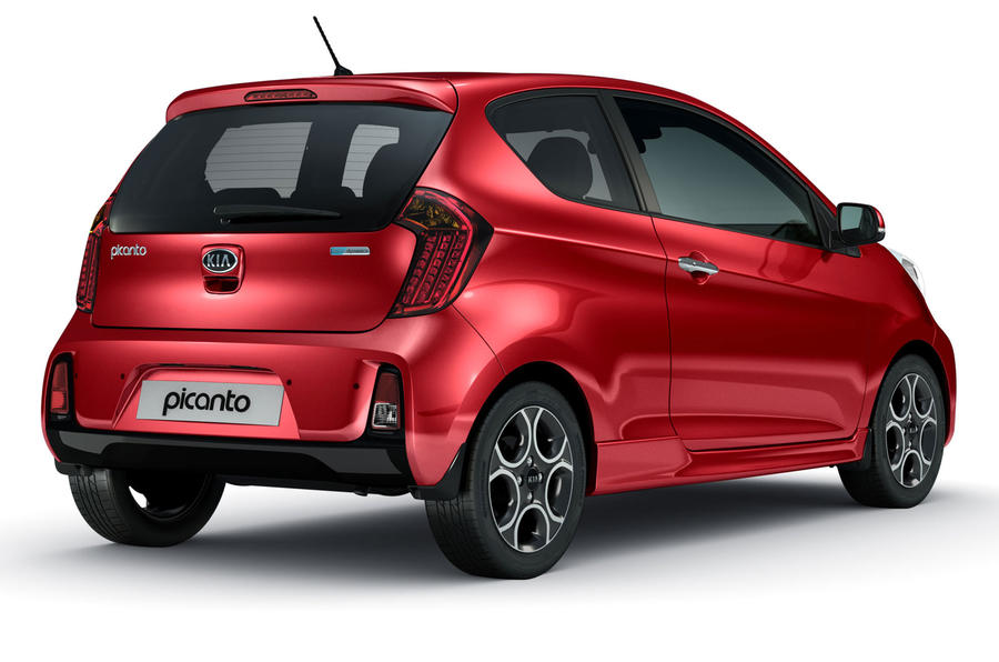 facelifted kia picanto goes on sale from 8345 autocar. Black Bedroom Furniture Sets. Home Design Ideas