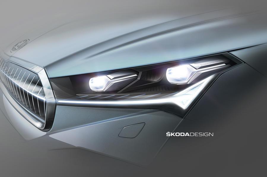 Skoda Enyaq lights