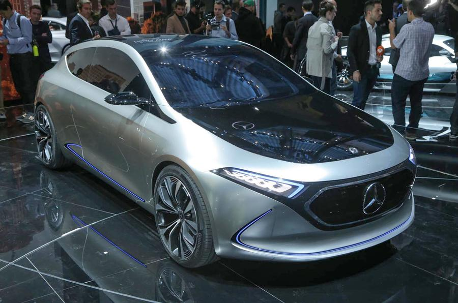 Mercedes EQA: electric hatch to be built at upgraded Smart factory ...