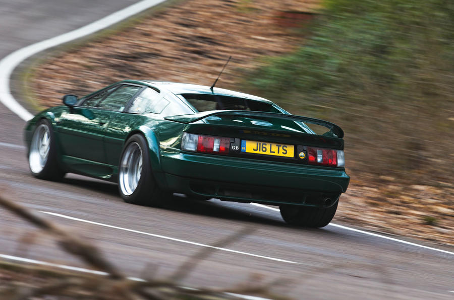Esprit Turbo back