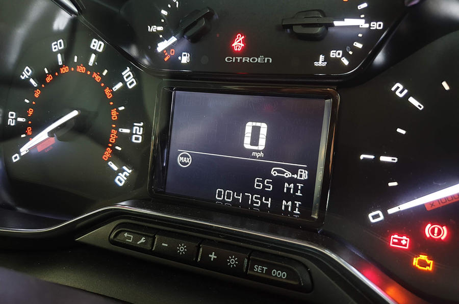 Citroen C3 Aircross long-term review - estimated miles remaining