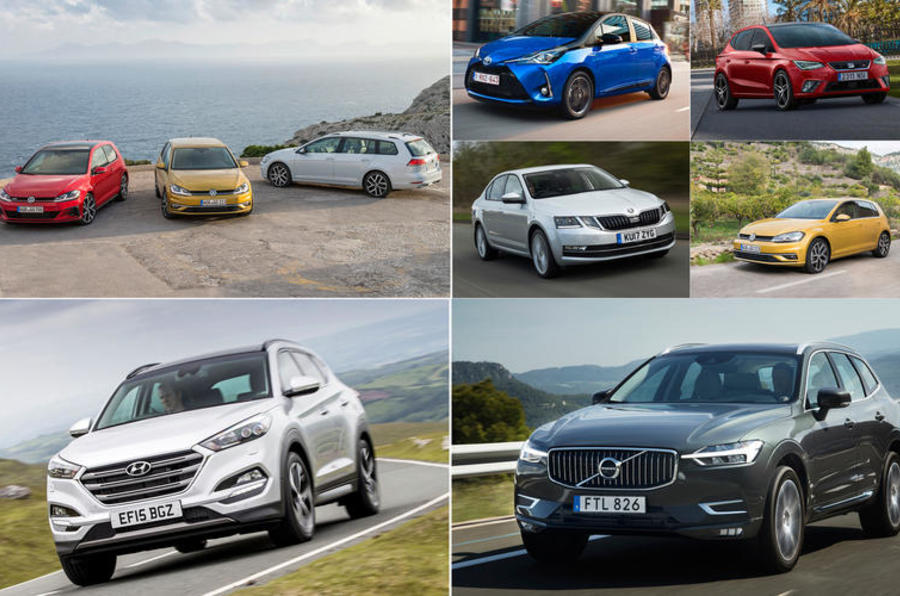 2018 S Most Popular Cars In Europe By Market Segment Autocar