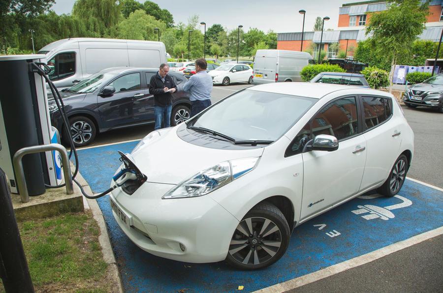 UK EV parking