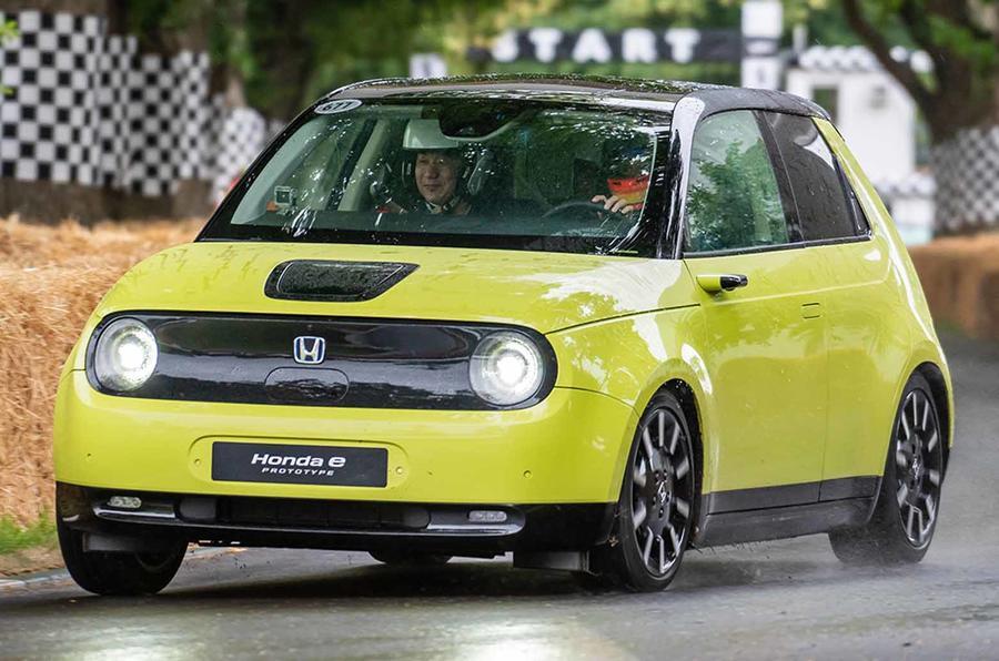 Honda E prototype at Goodwood Festival of Speed 2019