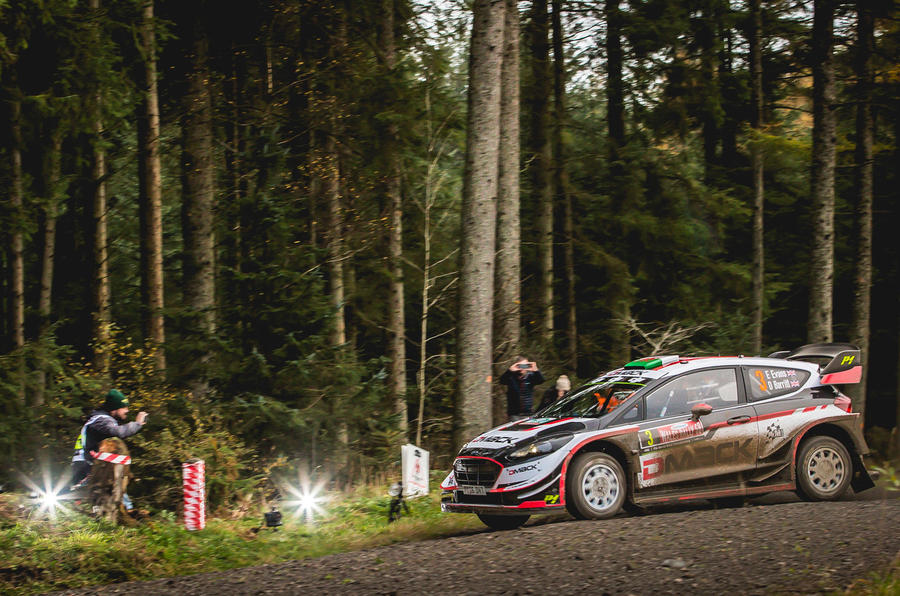 Evans Wales Rally GB
