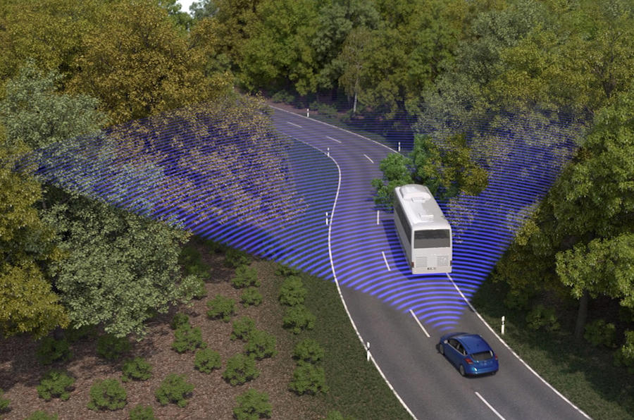 Ford semi-autonomous emergency steering system under development