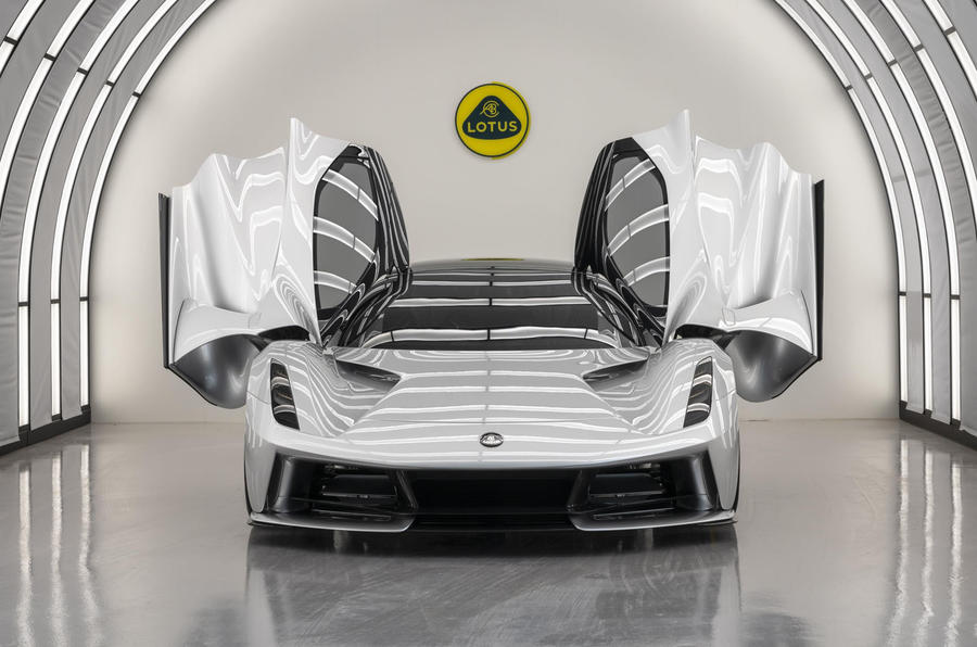 2020 Lotus Evija assembly process