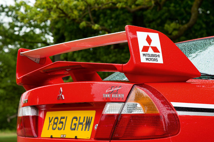 Past Masters: used Mitsubishi Lancer Evo VI review