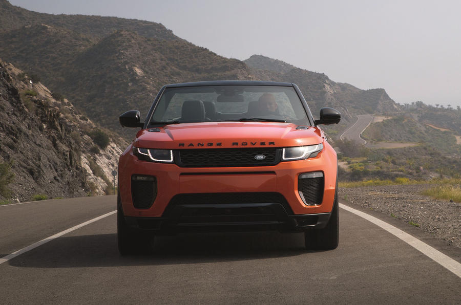 2016 range rover evoque convertible revealed autocar. Black Bedroom Furniture Sets. Home Design Ideas