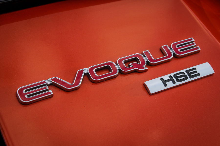 Land Rover Evoque Convertible badging