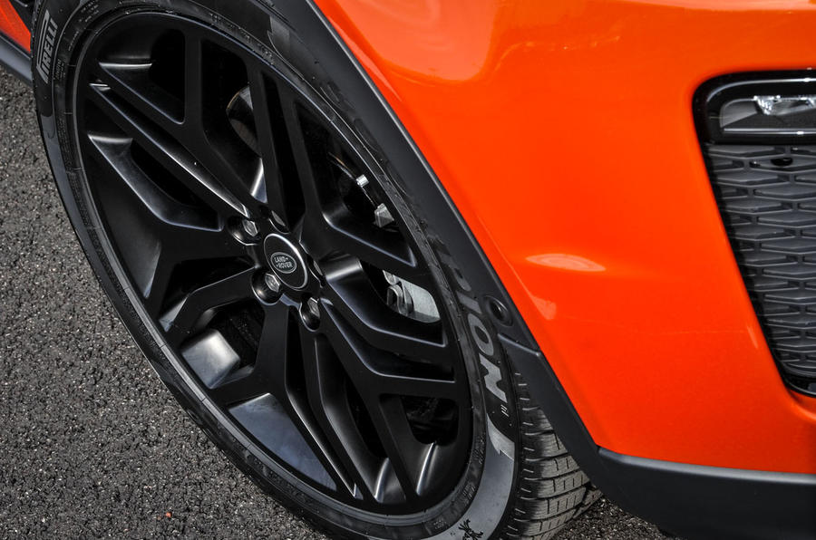 Land Rover Evoque Convertible alloys