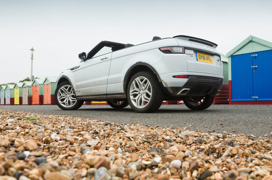 Range Rover Evoque Convertible Heads Off Road Autocar