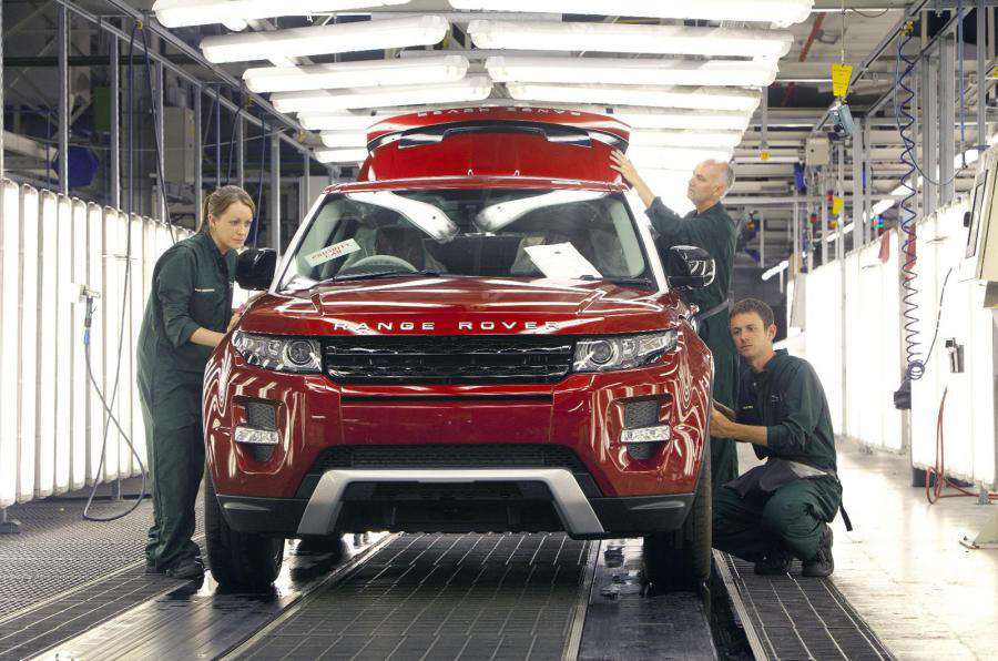 Jaguar Land Rover to shed 1000 contract staff