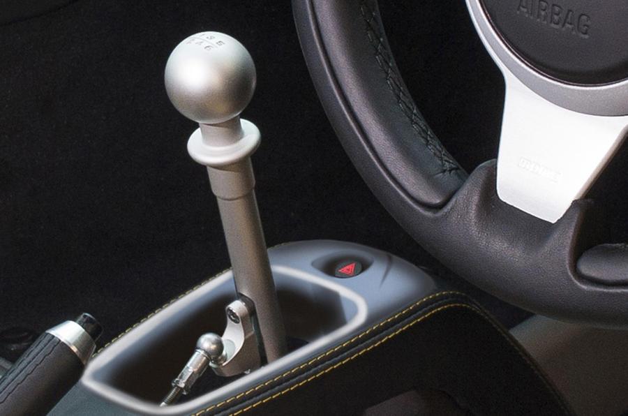 Lotus Exige Sport 350 manual gearbox