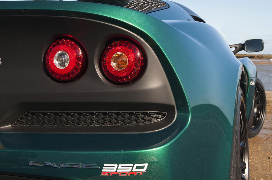 Lotus Exige 350 Sport rear lights