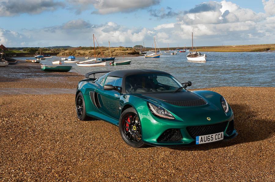 4.5 star Lotus Exige Sport 350