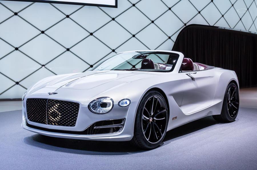 New bentley sports car