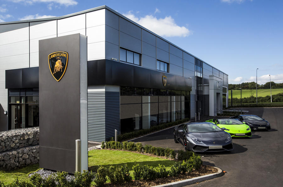 Lamborghini's new corporate look