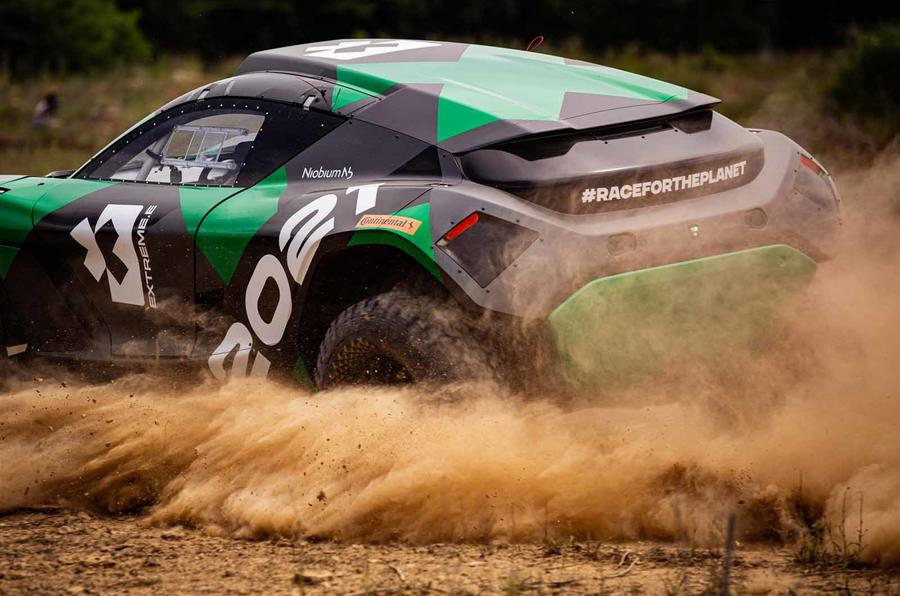 New Extreme E Electric Suv Racer Launched At Goodwood