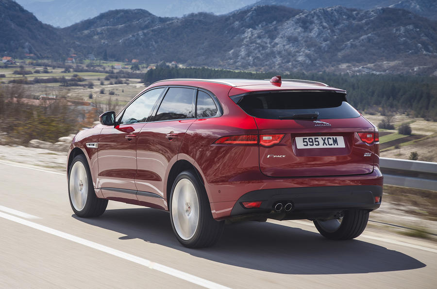 2.0d Jaguar F-Pace rear