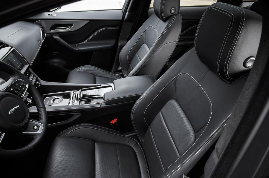 Jaguar F-Pace front seats