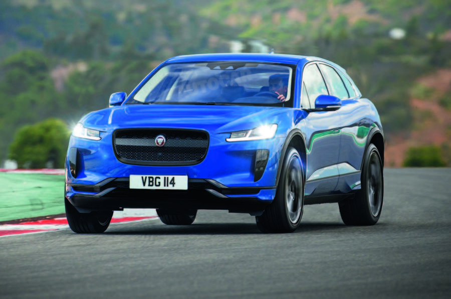 Electric-powered Jaguar F-Pace