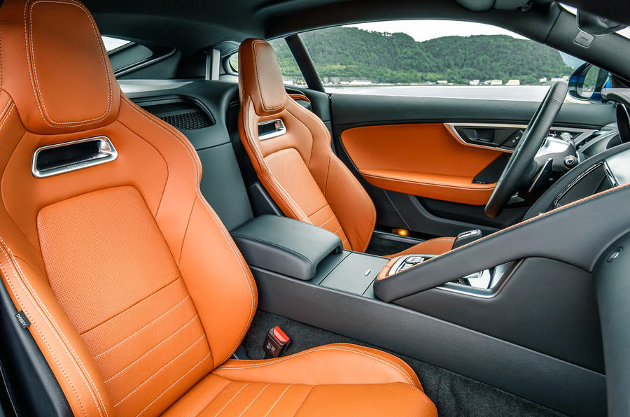 Jaguar F-Type front seats
