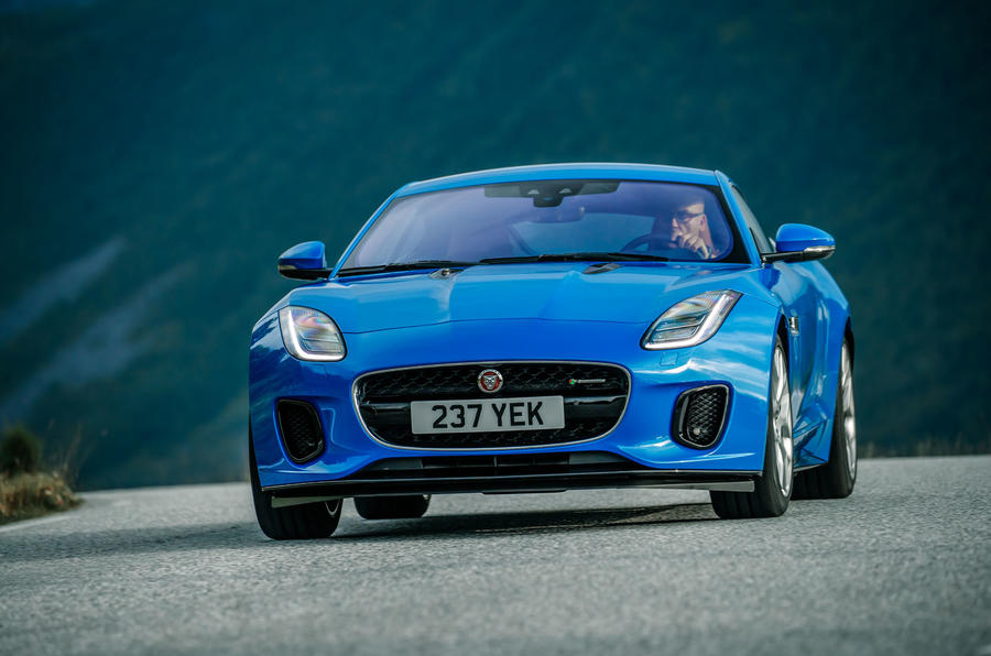 Jaguar F-Type cornering