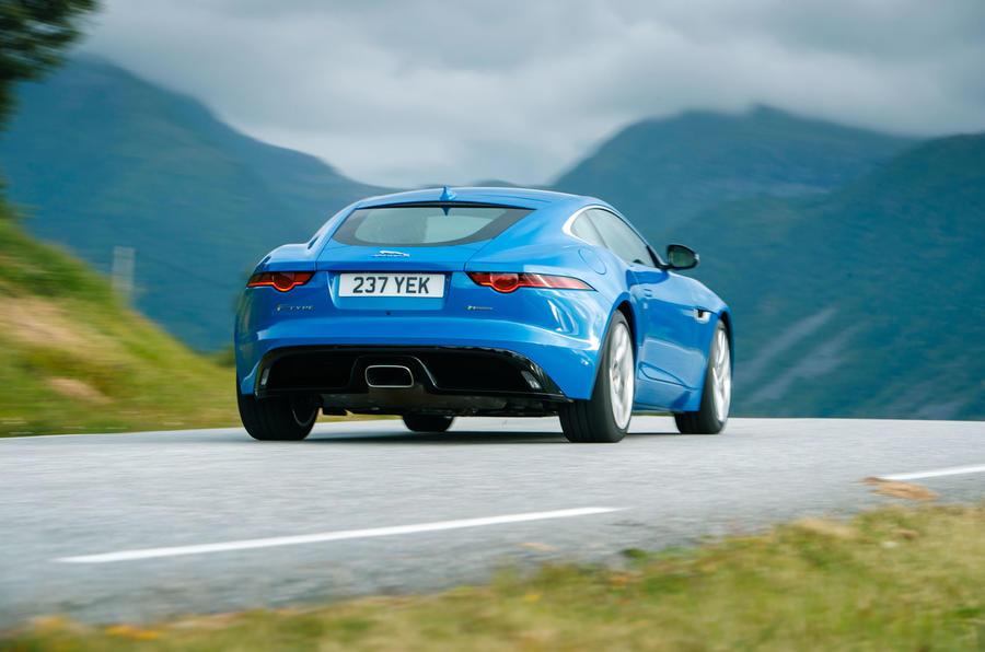 Jaguar F-Type rear quarter