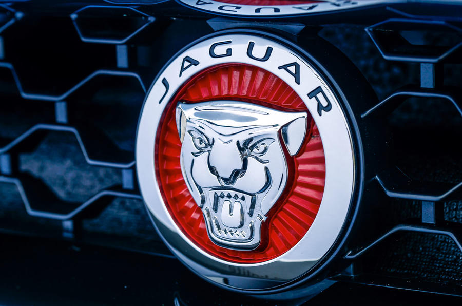 Jaguar badge