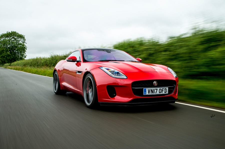 Four-cylinder Jaguar F-Type