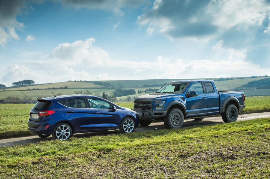 ford f-150 raptor vs the cotswolds: us truck on uk roads | autocar