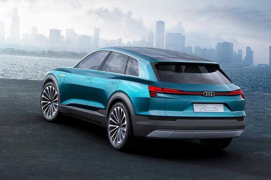 Audi Etron Quattro >> Audi Q6 e-tron quattro confirmed for production | Autocar